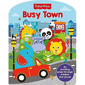 Fisher-Price Busy Town [Board book]