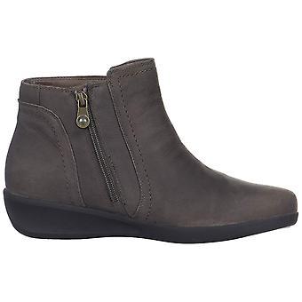 Aravon Kvinders Fairlee ankel støvle læder lukket tå ankel fashion støvler