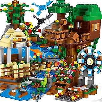 Building Blocks Mountain Cave Light/ World Warhorse City Tree House