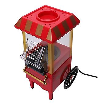 Electric Popcorn Popper Machine Home Party Tool (red Eu)