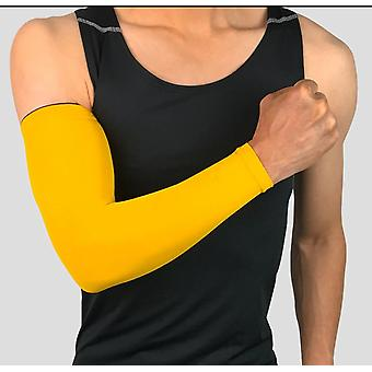 Compression Sports Arm Sleeve Basketball Cycling Warmer Summer Running Tennis