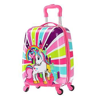 Animal Cartoon Suitcase On Wheels Trolley