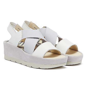 Fly London Bime Womens White Sandals