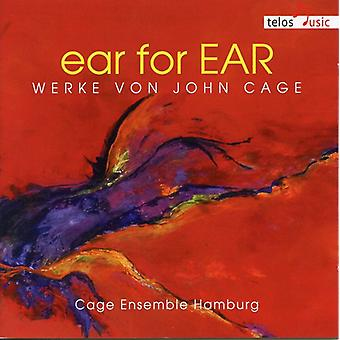 Cage / Cage Ensemble Hamburg - Ear for Ear: Works by John Cage [CD] USA import
