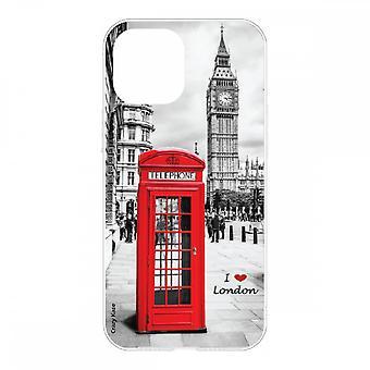 Hülle für Iphone 12 Mini (5,4) Weich I Love London
