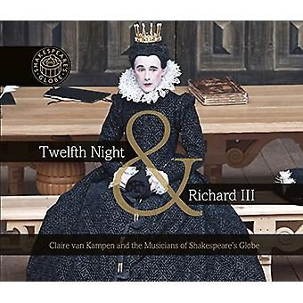 Dowland / Greebe / Weelkes / Askew / Humphreys - la nuit des rois & Richard III [CD] USA import