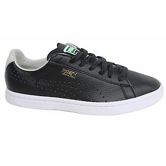 Puma Court Star NM Black Lace Up Mens Synthetic Trainers 357883 10 B119D