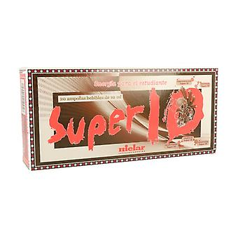 Super 10 20 ampoules of 10ml