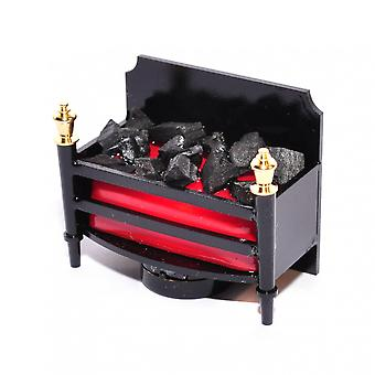 Dolls House Fireplace Grate With Glowing Coals Led Battery Fire