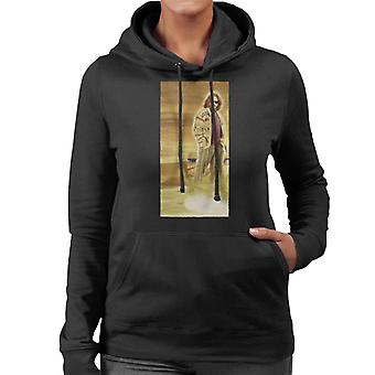The Big Lebowski The Dude Bowling Dream Clouds Women's Hooded Sweatshirt