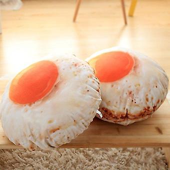 Fried Egg Cushion Pillow