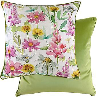 Evans Lichfield Ava Wild Flowers Cushion Cover