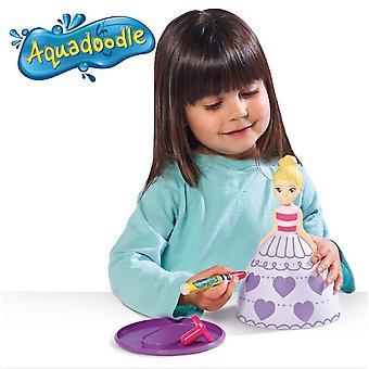 Aquadoodle e72734 dress designer, giocattoli per bambini da colorare 3d e mess free, penne da gioco educative per