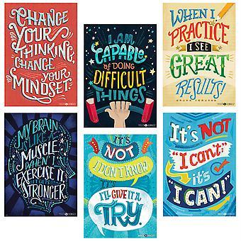 Mindset Inspire U Poster 6-Pack