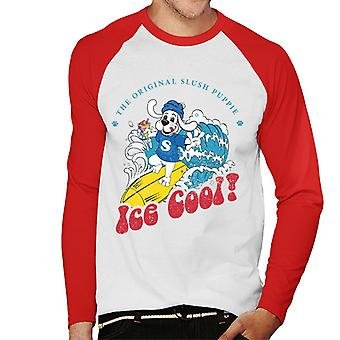 Slush Puppie Ice Cool Män's Baseball Långärmad T-shirt