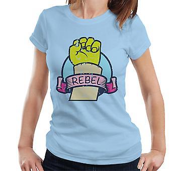 Shrek Hand Rebel Kvinnor & apos;s T-shirt