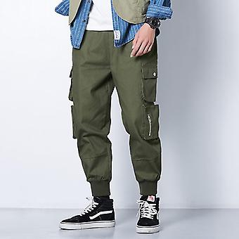 Hip Hop Casual Pockets Track Pants
