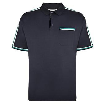 Espionage Shoulder Stripe Jersey Polo Shirt