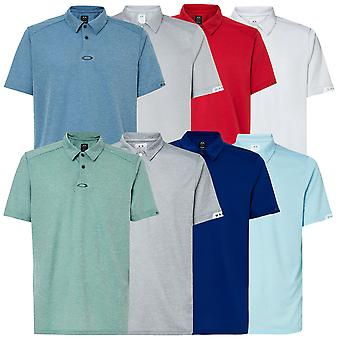 Oakley Mens 2021 Gravity 2.0 ademend SS Golf Polo shirt