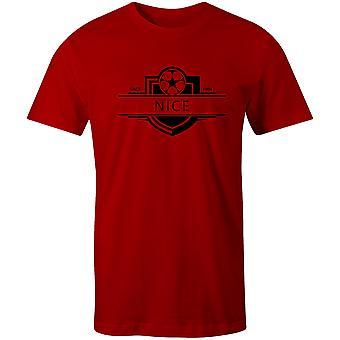 نيس 1904 أنشئت شارة كرة القدم تي شيرت