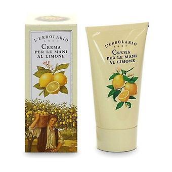 Lemon hand cream 75 ml