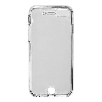 Full Cover compatible with Apple iPhone SE (2020) | Clear TPU