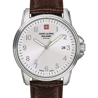 Mens Watch Swiss Alpine Military 7011.1532, Quartz, 40mm, 10ATM