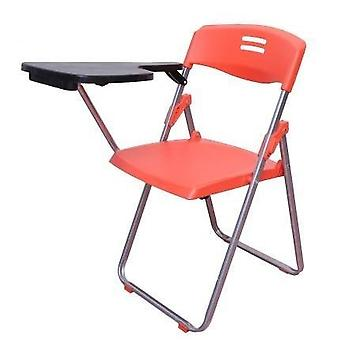 Folding Chair With Wordpad Office Meetings Chair, Plastic Breathable Backrest