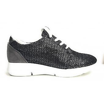 Sapatos Mulheres Trussardi Jeans Sneaker Brill Black Double Fund Running Ds16tj04