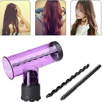 Curler Hair Dryer Attachment Curling Styling Skönhetsverktyg