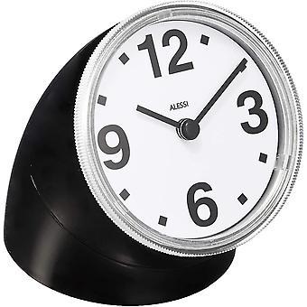 Alessi Cronotime Desk clock, Black