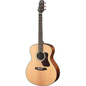 Walden g550e natura massief sparren top grand auditorium akoestisch-elektrische gitaar - open porie satijn naturel