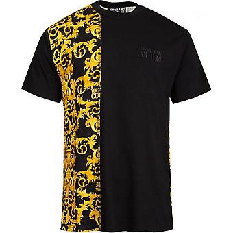 Versace Jeans Couture Rear Baroque Print T-Shirt
