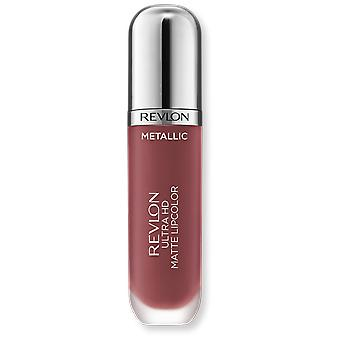 Revlon Ultra hd Matte Metallic Liquid Lipstick 705 shine