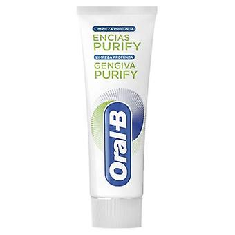 Oral B Pasta Dentífrica Encias Purify Limpieza profunda 75 ml