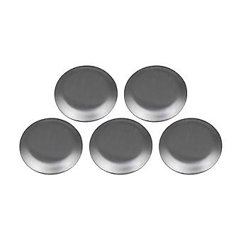 5PCS Solid 304 Stainless Steel Household Sink Hole Cover for 27mm Hole