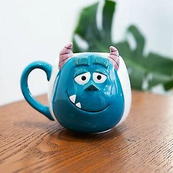 Disney Ceramic Cup Kaffe Vuxen Mugg Animation Tecknad Par Mjölk Te
