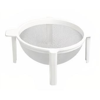 sieb stehend 22 cm Polyester/Polypropylen weiß