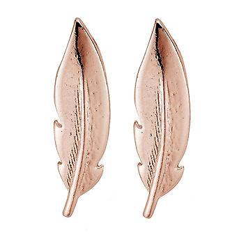ChloBo REST729 Women's Cuff Feather Earrings