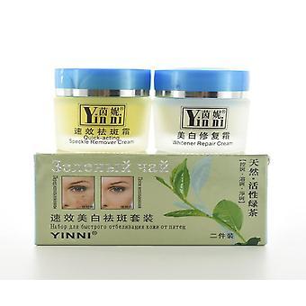 Green Tea Anti Freckle Skin Care Whitening Cream