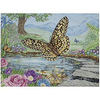 Anchor Counted Cross Stitch Kit: Maia Collection: Butterfly