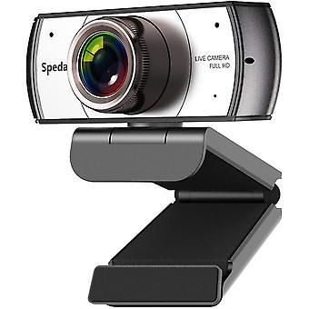 FengChun Webcam Full HD 1080P 120 Grad Weitwinkel Computer-Kamera Streaming Xbox Webcam USB Mit