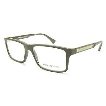 Emporio Armani EA3038 5064 Eyeglasses Frame Acetate Grey