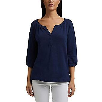 ESPRIT 041EE1K321 T-paita, 405/Tummansininen, XL Nainen