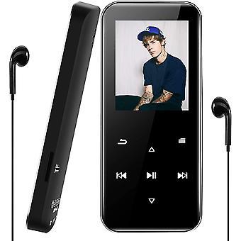 FengChun Lettore MP3 Bluetooth 16GB, MP3-Player Portatile Lossless Sound Musicale Digitale pro Sport