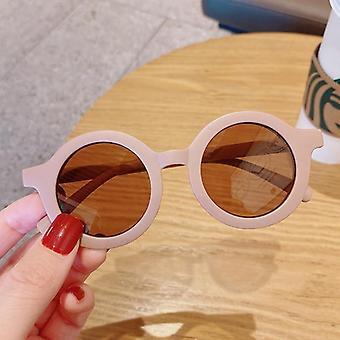 Culori pentru copii Cartoon Bear Forma moda rotund ochelari de soare