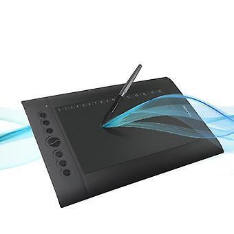 Tablet caneta de desenho digital profissional com bateria
