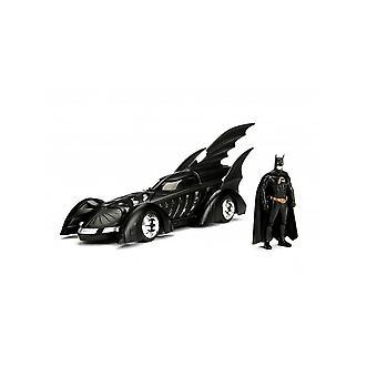 Batmobile con figura modelo fundido a troquel coche de Batman Forever