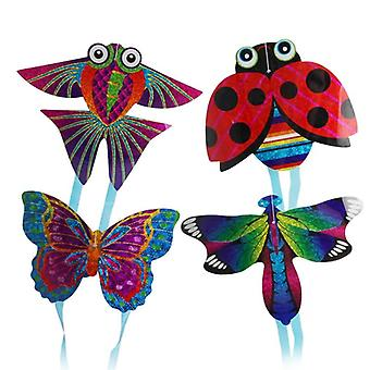 Çocuk için Uçurtma Oyuncak Böcek Mini Uğur Böceği Kelebek Yusufçuk Balık