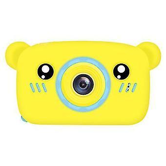 Bear yellow portable full-hd 1080p digital mini camera for kids child az955